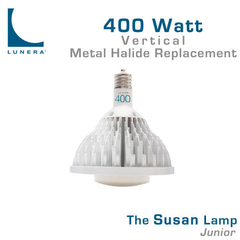 Lunera Susan Lamp Junior 400 Watt Metal Halide Replacement