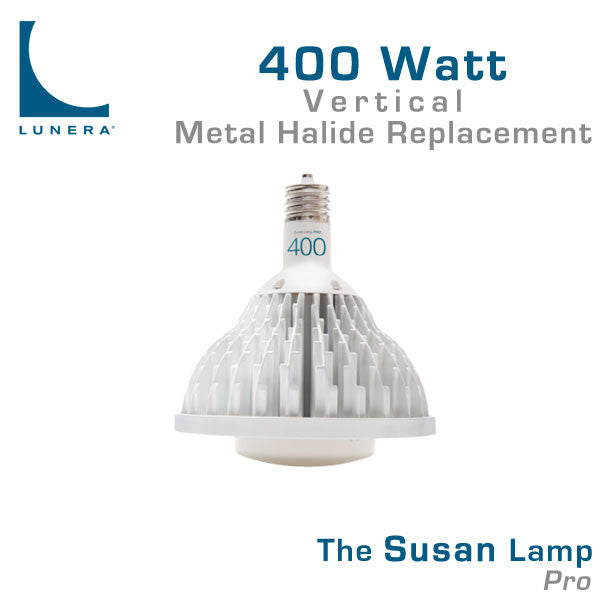 4ft Led Shop Light >> Lunera Susan Pro LED 400 Watt Metal Halide Replacement Lamp – EarthLED.com