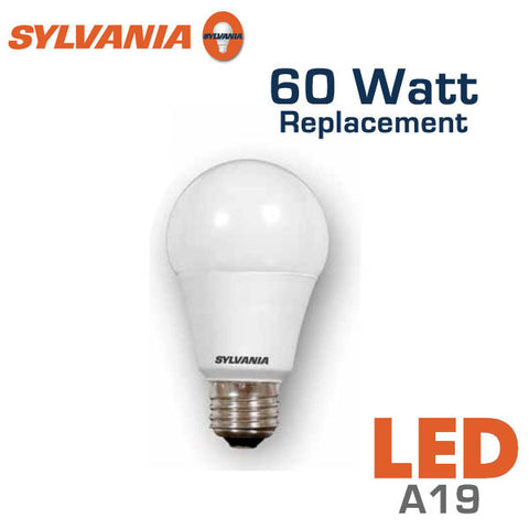 Sylvania LED A19 Bulb - 10 Watt - 60 Watt Equal - Non-Dimmable