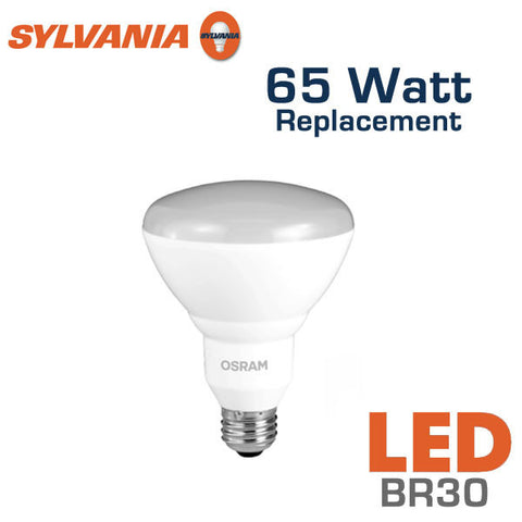 Sylvania Orios LED BR30 - 9 Watt - 65 Watt Equal - Dimmable