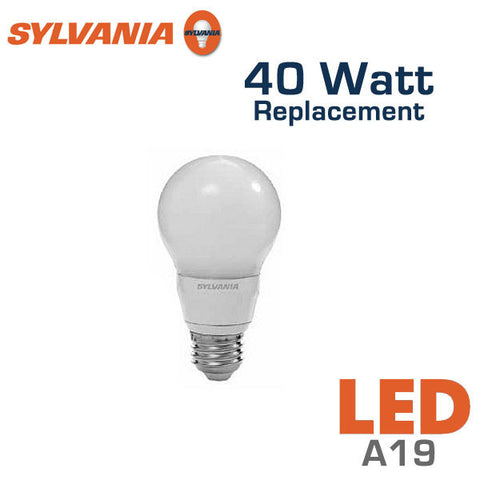 Sylvania Ultra A19 LED Bulb - 7 Watt - 40 Watt Replacement - Dimmable