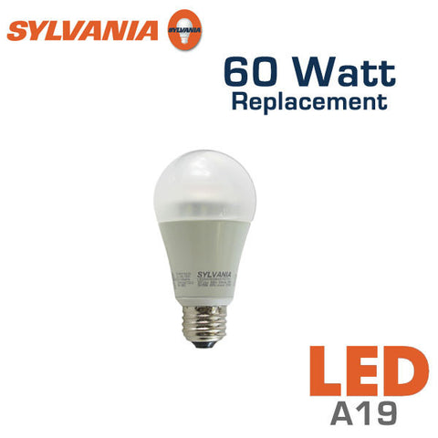 Sylvania Ultra A19 LED Bulb - 11 Watt - 60 Watt Replacement - Dimmable