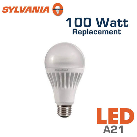 Delightful Sylvania Ultra A21 LED Bulb   17 Watt   100 Watt Replacement   Dimmable