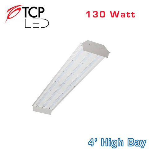 TCP - 4 ft. LED High Bay - 130 Watt - 12000 Lumens - 400 Watt Equal