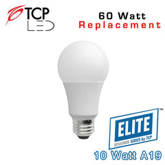 TCP Elite A19 - 10 Watt - 60 Watt Equal