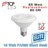 TCP Elite PAR30 Short Neck - 12 Watt - 65 Watt Equal - 90 CRI
