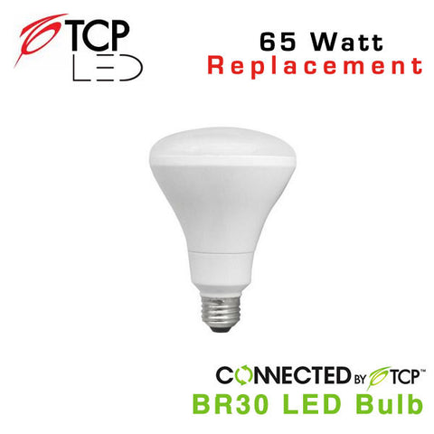 TCP Wireless Connected Smart BR30 LED Light Bulb