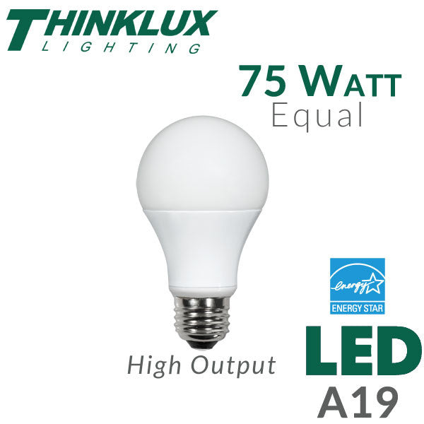 Led Light Bulb 75 Watt Equal Dimmable Earthled Com