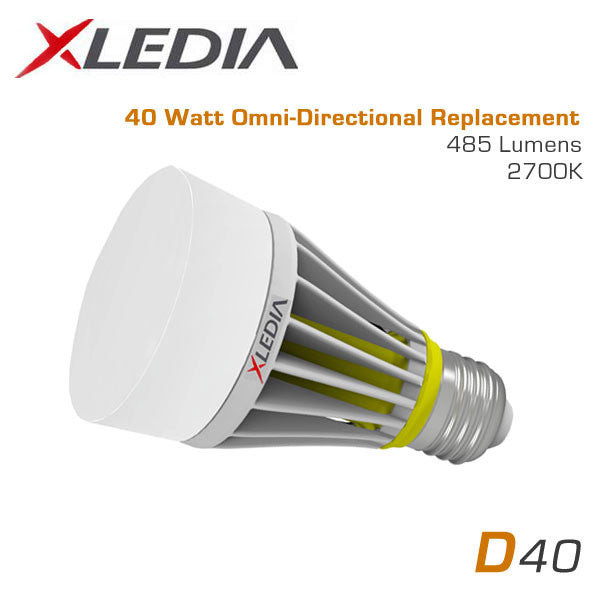 Led Bulbs For Enclosed Fixtures: 40 Watt Equal A19 LED For Fully Enclosed