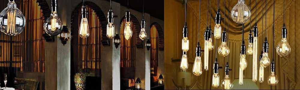 Vintage Filament Edison Style LED Light Bulbs
