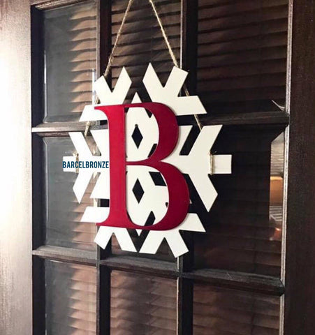 Monogram Door Decor