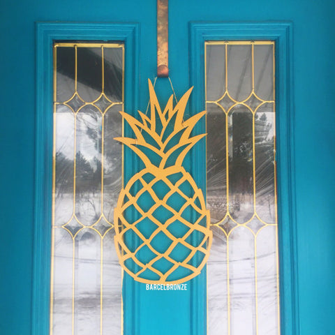 Pineapple Door Sign