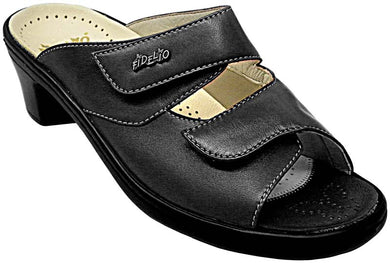 Fidelio Hallux Magi-stretch Mule-Sandals with Heel 33-517