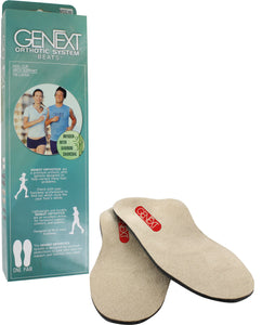 Genext Orthotics-Posted Heel with Metatarsal Pad/ Full Orthotics Arch Supports