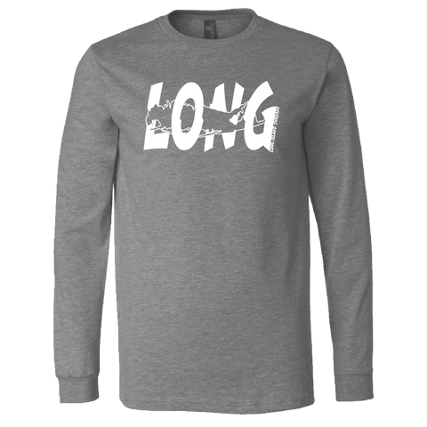 LI Offset Long Sleeve (Heather Deep Grey)