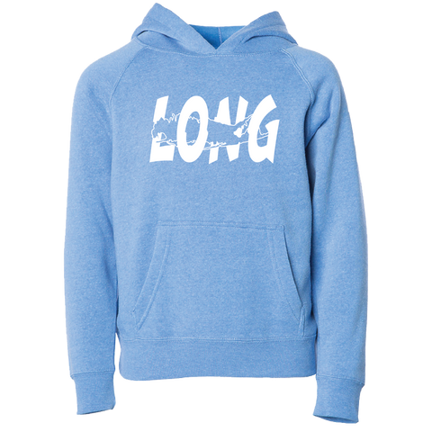 LI Offset Youth Hoodie (Atlantic Blue)