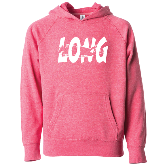 LI Offset Youth Hoodie (Pomegranate)