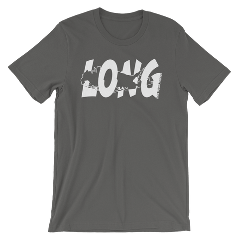Long Island Offset T-Shirt (Asphalt)