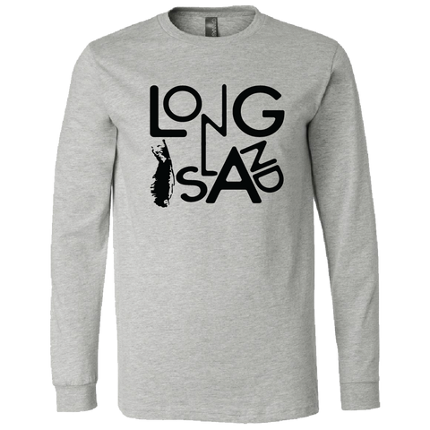 LI Abstract Long Sleeve T-Shirt (Heather Grey)
