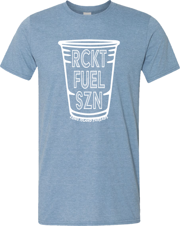 Rocket Fuel Season Tee (Heather Indigo)