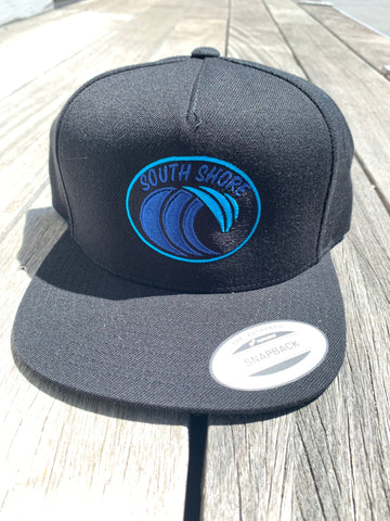 South Shore Wave Snapback (Black)