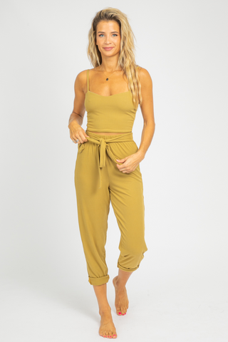 YELLOW ONE SHOULDER RUFFLE MINI