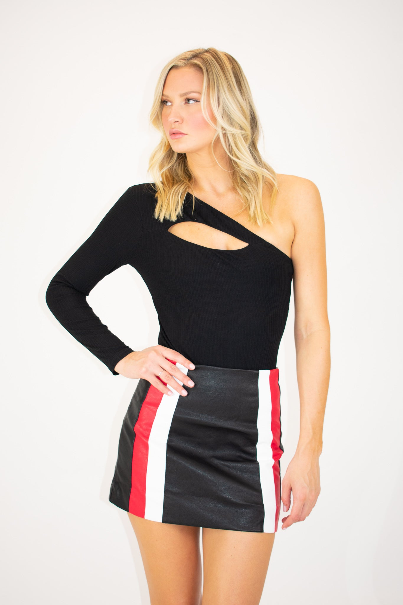 COLORBLOCK MOTORSPORT SKIRT