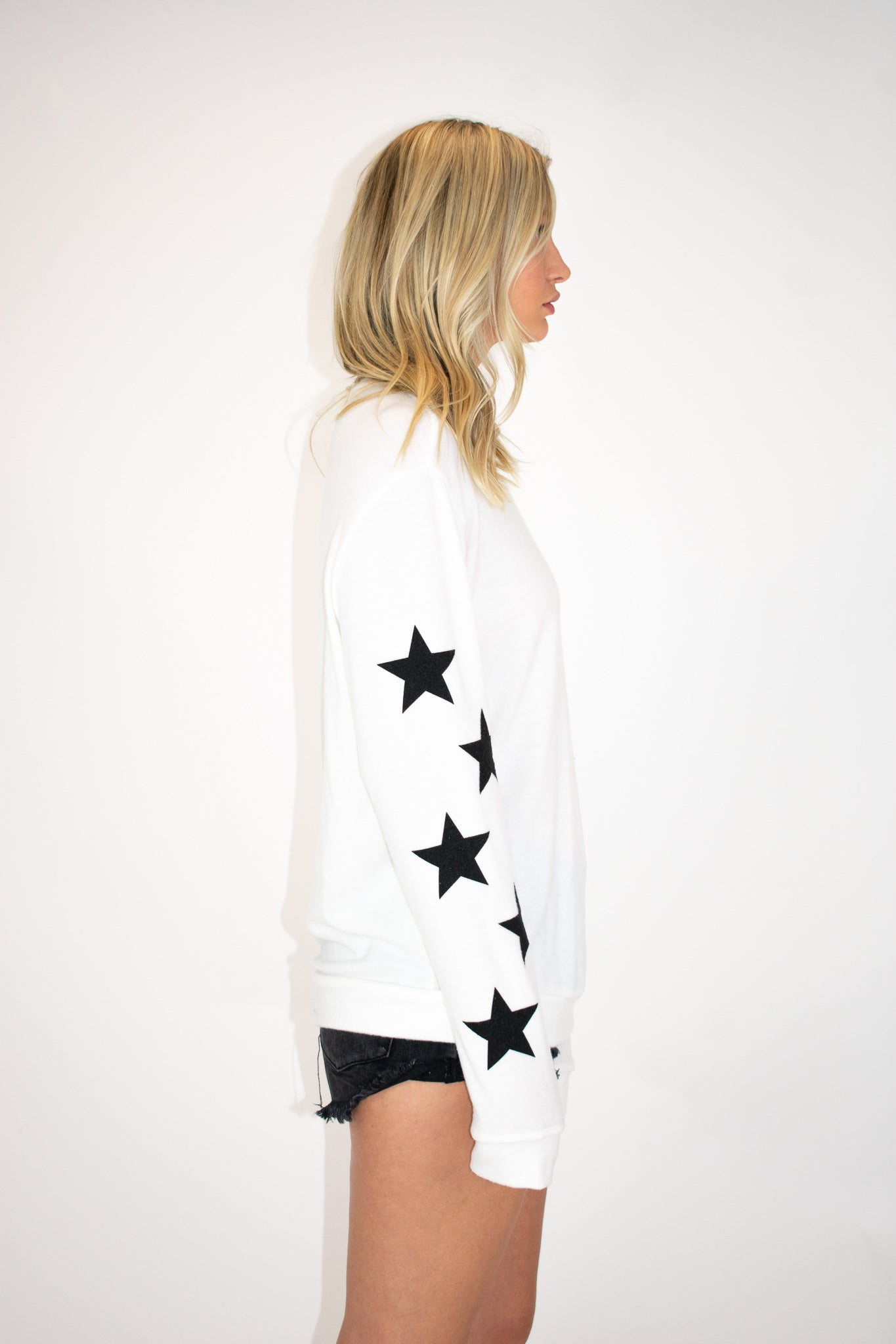 OUR SOFTEST STAR PULLOVER IN OFF WHITE