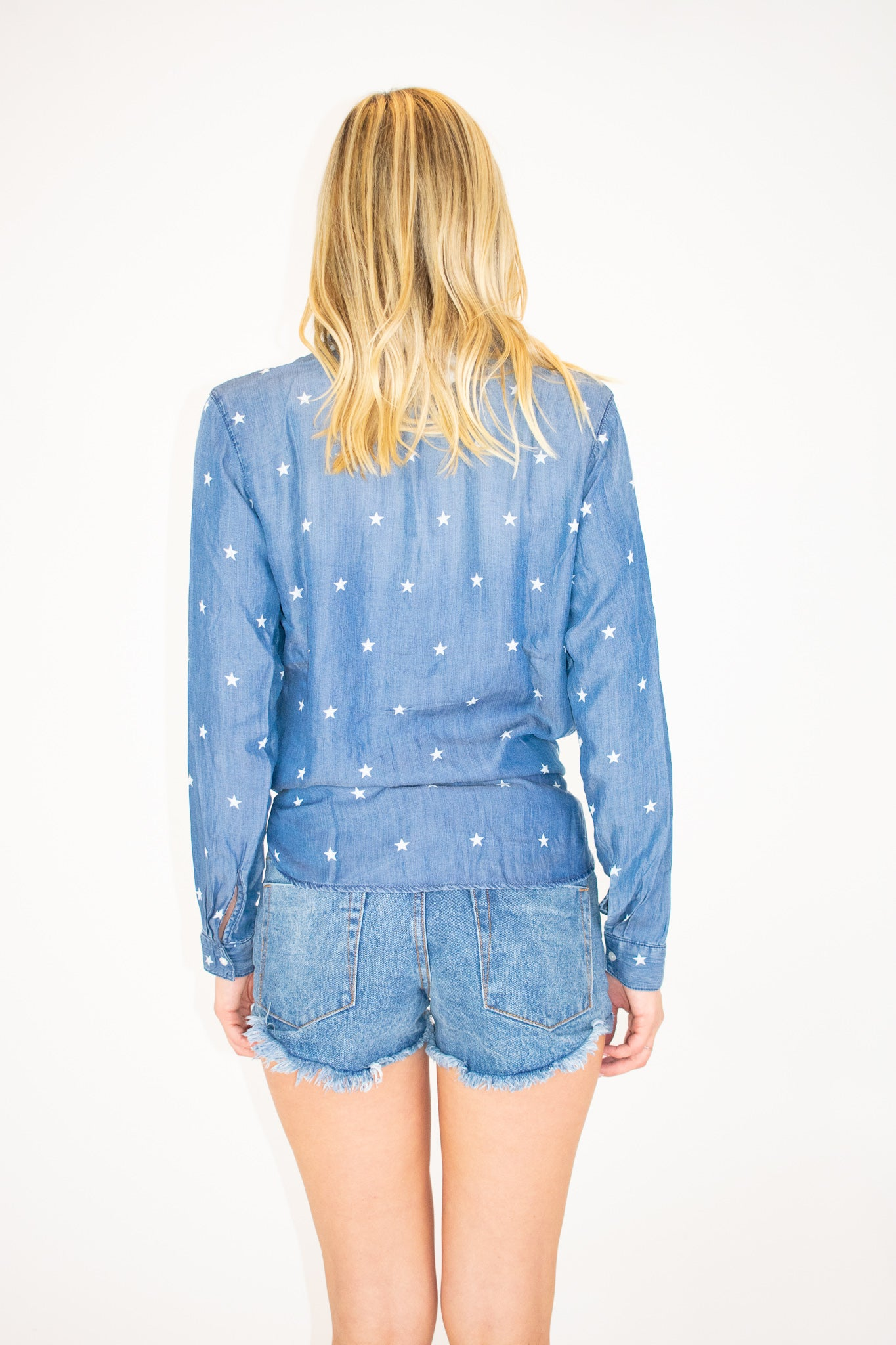 STAR CHAMBRAY SHIRT