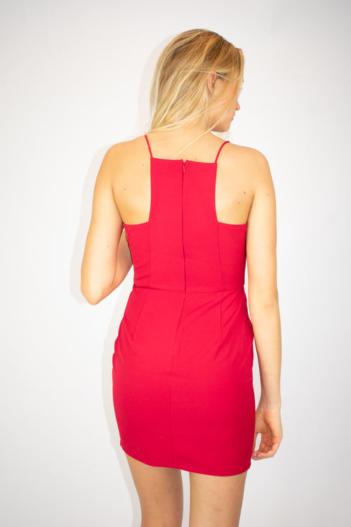 MINUET LITTLE RED DRESS / FINAL CLEARANCE