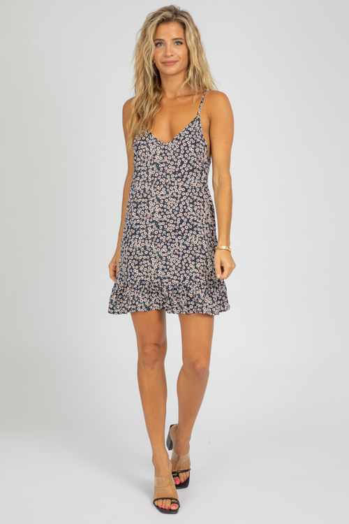 DAISY LOW BACK MINI DRESS