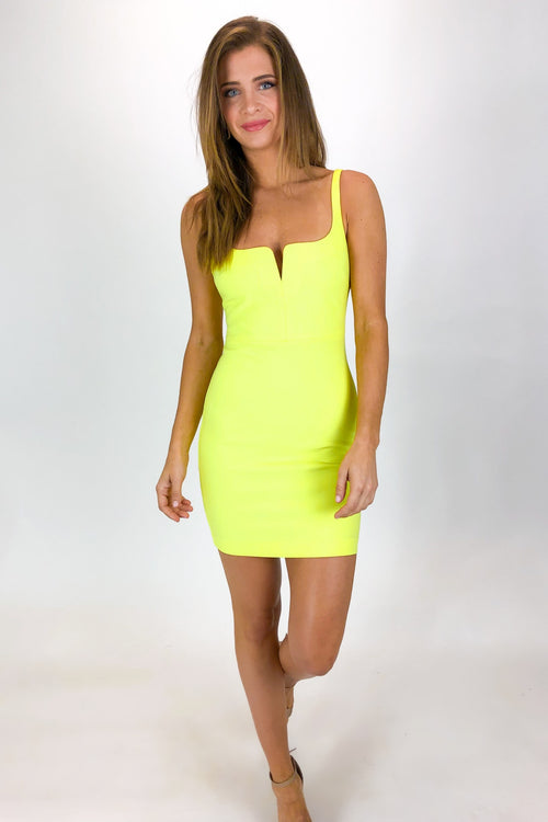 LIKELY CONSTANCE DRESS IN LEMONADE