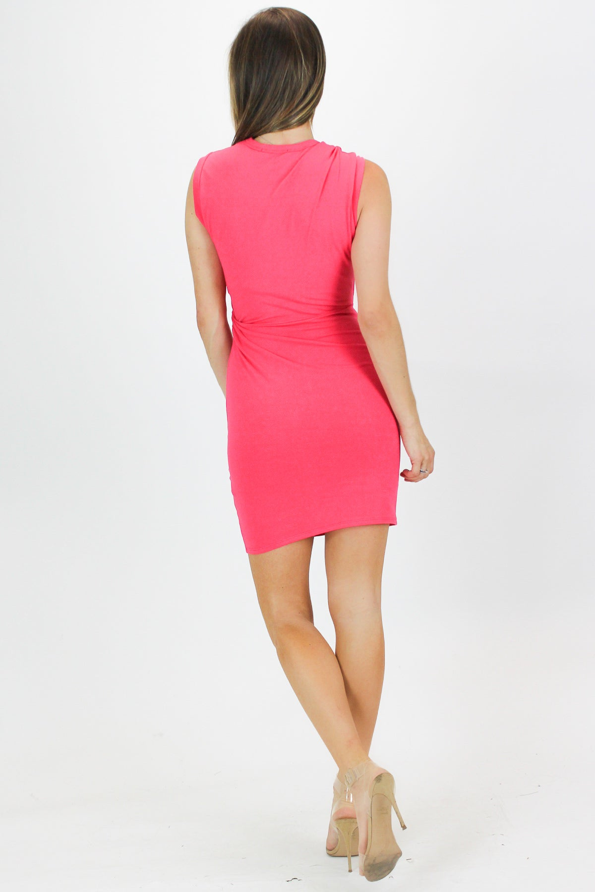 COMFY CUT OUT MINI IN CORAL