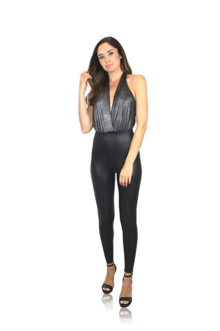 CAMI BODYSUIT IN BLACK