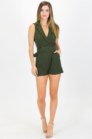 OVERWRAP CUT OUT JUMPSUIT