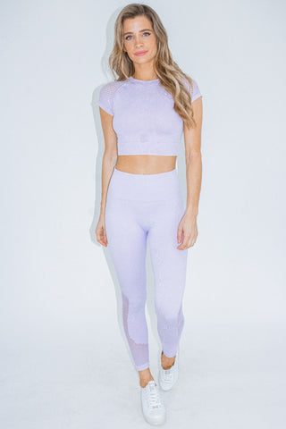 GREY OMBRE LEGGINGS