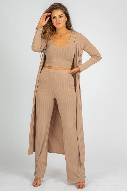 FAWN RIBBED 3 PIECE SET