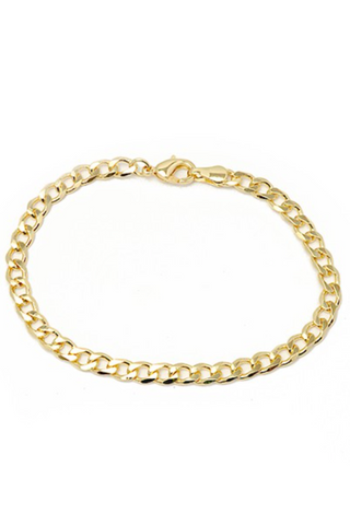 HIGH QUALITY GOLD PLATED HERRINGBONE NECKLACE