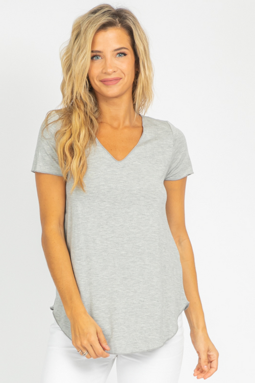 HEATHER GREY EVERYDAY TEE