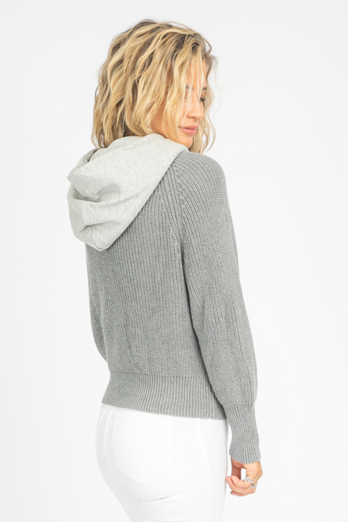 HELGA SWEATER IN GREY