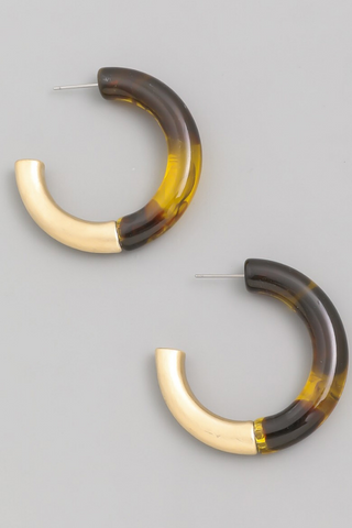 GOLD + CRYSTAL EAR CLIMBER