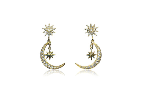RELLA EARRING IN SILVER