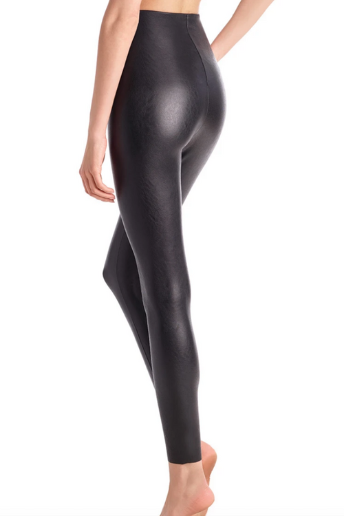 COMMANDO CONTROL FAUX LEATHER LEGGINGS