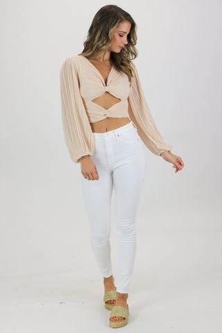 HALTER CROPPED SET