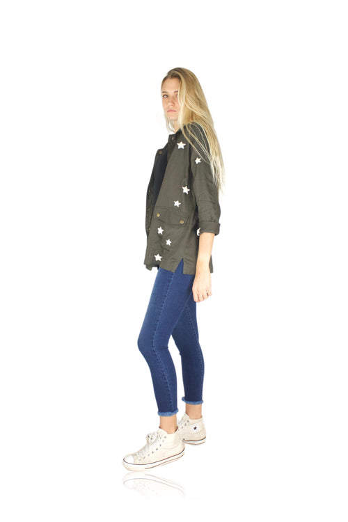 STAR GENERAL SHIRT JACKET