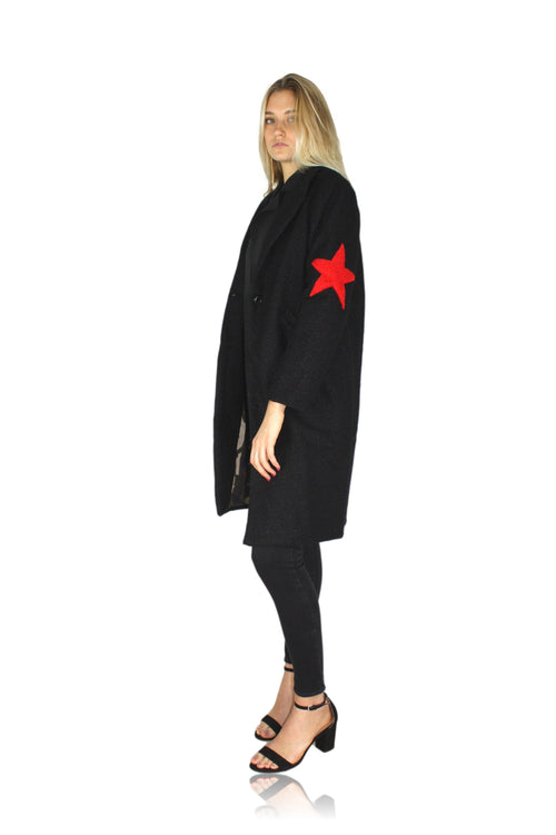STAR ELBOW COAT