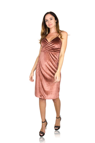 BABY SPICE DRESS IN BLUSH