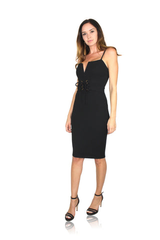 ONE SHOULDER CUT OUT LBD