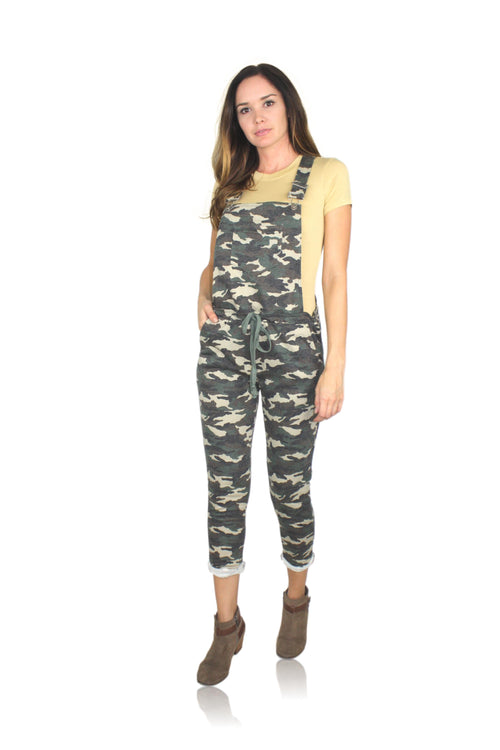 CAMO OVERALL JUMPSUIT