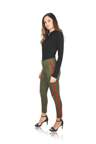 COMMANDO CONTROL FAUX PATENT LEATHER LEGGINGS